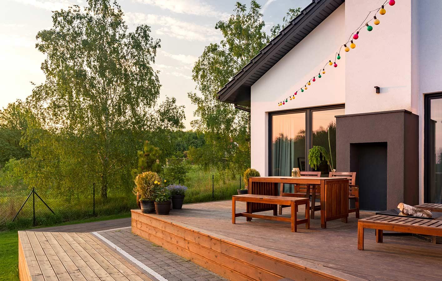 Terrassendielen Terrasse Holzdecks Bangkirai WPC kaufen Montage
